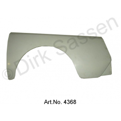 Mudguard, rear, Break, Gfk, left