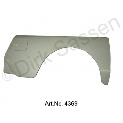 Mudguard, rear, Break, Gfk, right