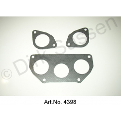 Set of cylinder head intake seals, carburettor, from 1965, 3 pieces