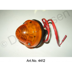 Cap for rear light, Break, orange, with support base
