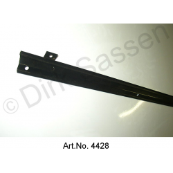 Cover strip, left, for electric cables in the boot, powder-coated