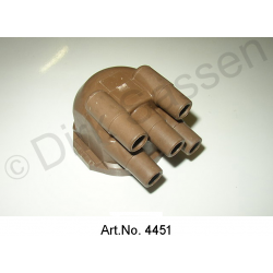 Distributor cap for electronic distributor, angled version, only for 0157d