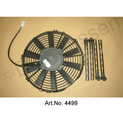 Additional fan, replacement type, mounting behind the radiator, from 1965, powerful