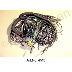 Wiring harness, AC, from 09/1971, battery left, round instruments with reversing light, 8 fuses, export Germany