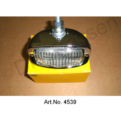 Reversing light, chrome-plated, replacement type