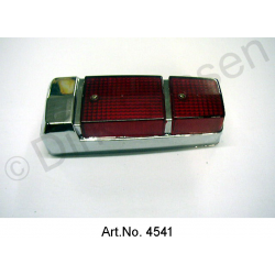 Cap for rear light, Pallas, from 1970, chrome-plated, very good reproduction