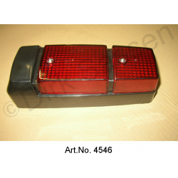 Rear light cap, Non Pallas, black, newly made