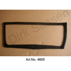 Seal for trunk lid, sponge rubber, inside