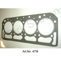 Gasket cylinder head, reinforced 0.2 mm thicker, DS 21