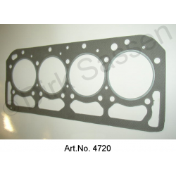 Gasket cylinder head, reinforced 0.2 mm thicker, DS 23