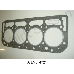 Cylinder head gasket, reinforced 0.5 mm thick, DS 21