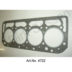 Cylinder head gasket, reinforced 0.5 mm thick, DS 23