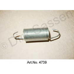 Return spring, coupling fork for 3-claw coupling, 25 windings