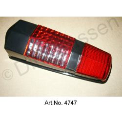 Cap for taillight, black, until 1967
