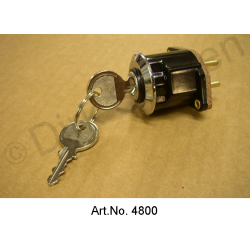 Ignition lock, until 1968, original design