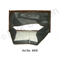 Air scoop, with metal frame, riveted, up to DS 21, brown, carburettor from 9/1972