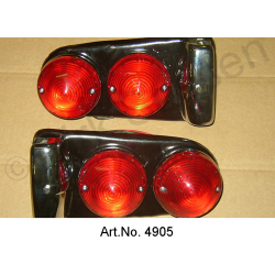 Taillight, pair, complete, from 1967, 2 pieces