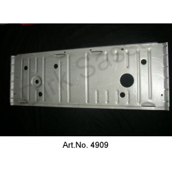 Car floor for tank bottom, 1-piece, horizontal