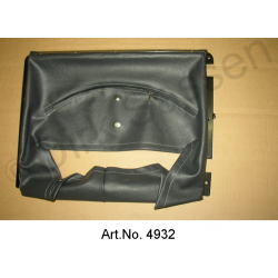 Air scoop, with metal frame, riveted, from DS 23, black, carburettor and IE, from 1971
