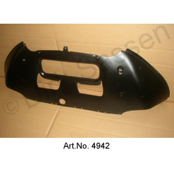 Front bumper, made of metal, custom-made new production, from 1967, on pre-order, SUPPLEMENT FOR LOCKING