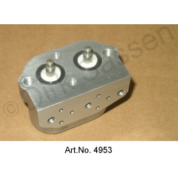Brake valve, for brake fungus, reconditioned, exchange part