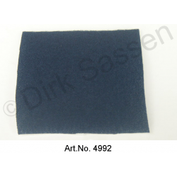Fabric, smooth, blue, 1.4 meters wide, per meter