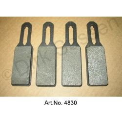 Brake pads for handbrake, SM