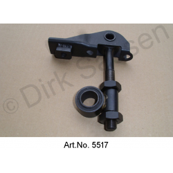 Suspension caliper, with bolt and bracket, long bracket, right, until 7/1962