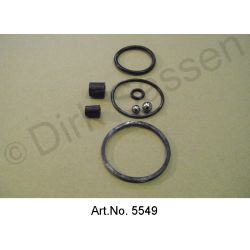 Overhaul kit for pressure regulator, for steel version (not aluminum)