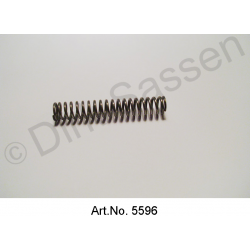 Oil pump spring, short