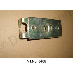 Lock for bonnet, until 1967, as new, yellow chromated