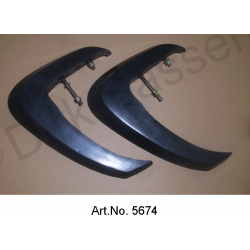 Set of bumper horns, 1962 to 1965, long version
