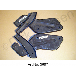 Bracket for bumper, pair, left and right, 09/1962 to 09/1967, original spare part