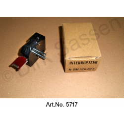 Brake light switch, for brake pedal, until 1971
