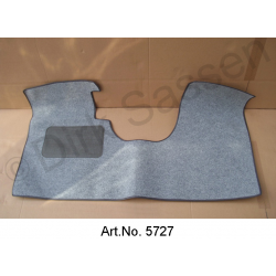 Floor mat, front, DSuper, DSpecial, ID 19/20, with brake pedal