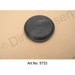 Sealing plug made of rubber, bulkhead, SM, diameter 40 mm