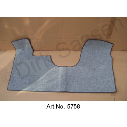 Floor mat, front, DS, Non Pallas or Break, with brake pad