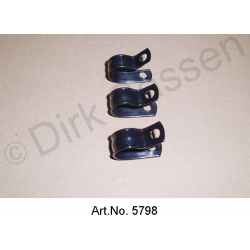 Mounting clamps for tank ventilation, plastic, 3 pieces