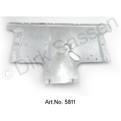Air baffle, brake cover, from 1966, galvanized, best version