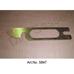 Distance plate for bumper, to frame shoe, made of metal, from 1967, as new