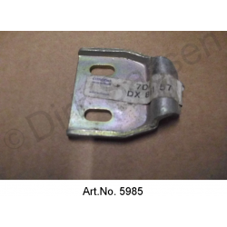 Lock holder for tailgate, original spare part, on rear end plate, DX86157