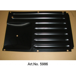 Air baffle, brake cover, front, until 1962, newly manufactured