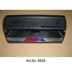 Heater cover, from 1969, used, silver trim