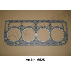Cylinder head gasket reinforced 0.8 mm thick, DS 23