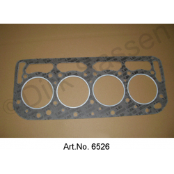 Cylinder head gasket reinforced 0.8 mm thick, DS 21