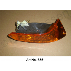 Turn signal, Non-Pallas, orange, right, until 1967, replica
