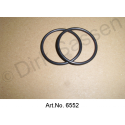 Sealing rings for hydraulic tank, bottom, 2 pieces