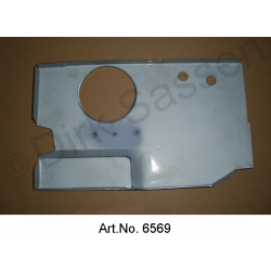 End plate for sill, rear, right, vertical