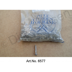Dashboard screw, chrome-plated, for dashboard, until 1969, original spare part