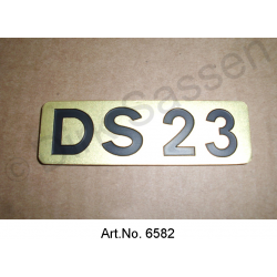 Monogramm, ´DS 23`, Break